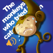 The monkeys who tried to catch the moon -by Rye Studio